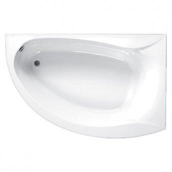 Carron Omega Offset Corner Bath 1700mm x 1000mm Left Handed 5mm - Acrylic