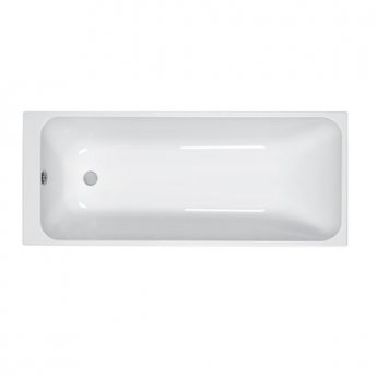 Carron Profile 1500mm x 700mm Plain Bath 5mm Acrylic - White