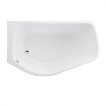 Carron Profile 1500mm x 900mm Shower Bath - Left Handed - Carronite