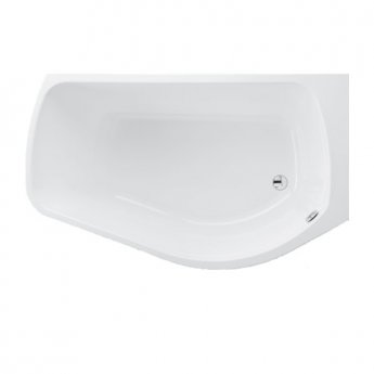 Carron Profile 1500mm x 900mm Shower Bath - Right Handed - Carronite