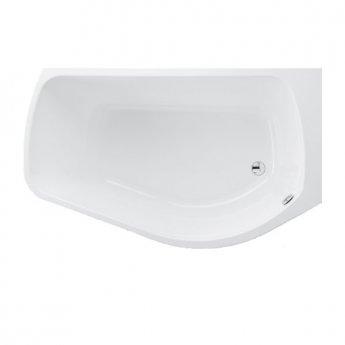 Carron Profile 1500mm x 900mm Shower Bath RH 5mm Acrylic - White