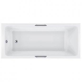 Carron Quantum Integra Rectangular Bath with Grips 1700mm x 700mm 5mm - Acrylic