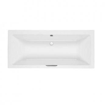 Carron Quantum Integra Duo Bath 1700mm x 750mm with Single Grip - 5mm Acrylic - White