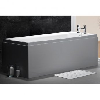 Carron Quantum Mini Rectangular Bath 1600mm x 700mm - Carronite