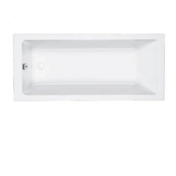 Carron Quantum Mini Rectangular Bath 1600mm x 800mm - Carronite