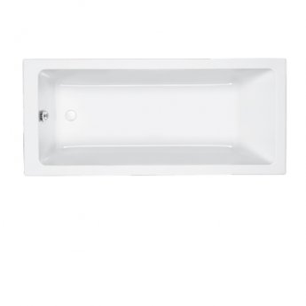 Carron Quantum Single Ended Rectangular Bath 1800mm x 800mm 5mm - Acrylic