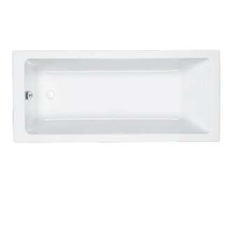 Carron Quantum Single Ended Rectangular Bath 1700mm x 800mm 5mm - Acrylic
