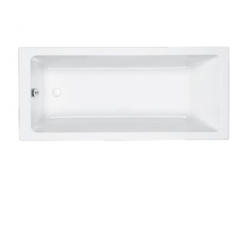 Carron Quantum Single Ended Rectangular Bath 1800mm x 800mm - Carronite