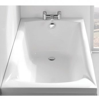 Carron Sigma Rectangular Bath 1700mm x 800mm - Carronite