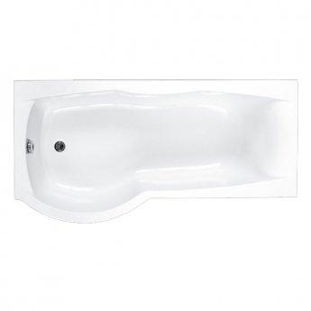 Carron Sigma 1800mm x 750mm/900mm Shower Bath - Left Handed - Carronite