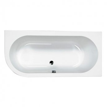 Carron Status Double Ended Bath 1700mm x 800mm Left Handed - Carronite