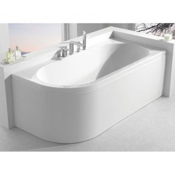 Carron Status Double Ended Bath 1600mm x 725mm Left Handed 5mm - Acrylic