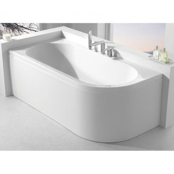 Carron Status Double Ended Bath 1700mm x 725mm Right Handed - Carronite