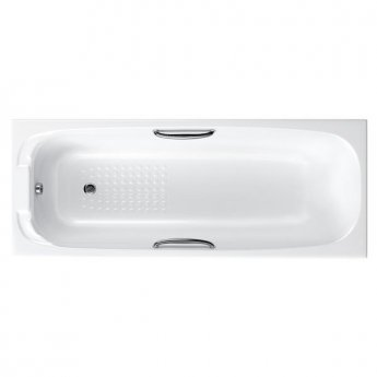 Carron Swallow Rectangular Bath with Grips 1700mm x 700mm 8mm - Acrylic