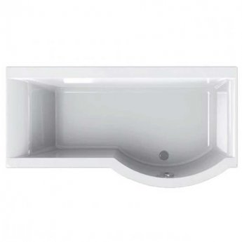Carron Urban P-Shaped Shower Bath 1500mm x 750/900mm Right Handed 5mm - Acrylic