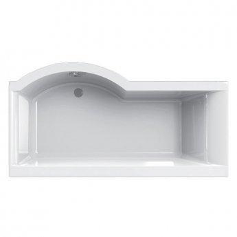 Carron Urban P-Shaped Shower Bath 1500mm x 750/900mm Right Handed 5mm - Acrylic