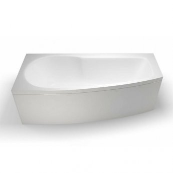 Cleargreen Ecocurve Shower Bath 1700mm x 750mm/500mm - Left Handed