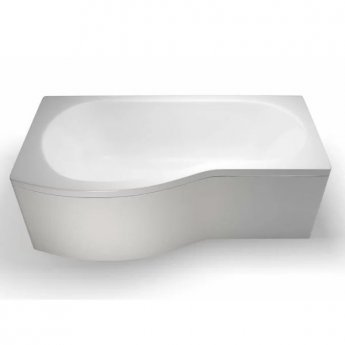 Cleargreen Ecoround Shower Bath 1700mm x 900mm/740mm - Left Handed