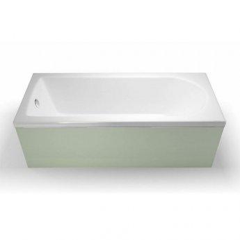 Cleargreen Reuse Rectangular Single Ended Bath 1800mm x 750mm - White