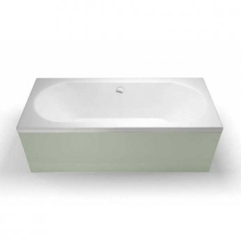 Cleargreen Verde Rectangular Double Ended Bath 1600mm x 750mm - White