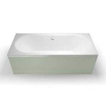 Cleargreen Verde Rectangular Double Ended Bath 1800mm x 900mm - White