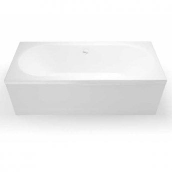 Cleargreen Verde Rectangular Double Ended Bath 1900mm x 800mm - White