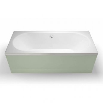 Cleargreen Verde Rectangular Double Ended Bath 1700mm x 700mm - White