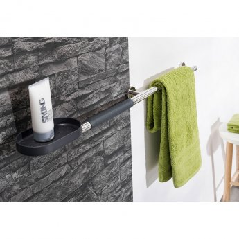 Coram Boston Bathroom Anti Slip Grip - Grey