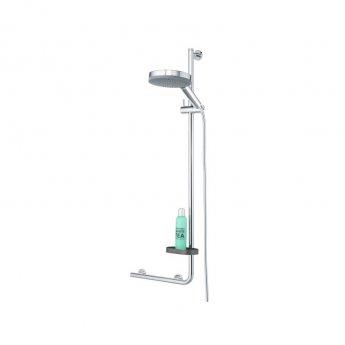 Coram Boston Soap and Shampoo Holder - Grey
