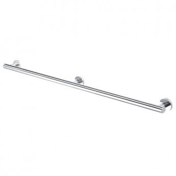 Coram Boston Safety Bar 900mm - Stainless Steel Polished