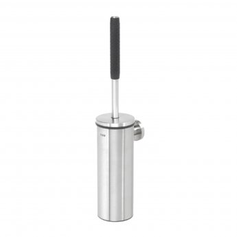 Coram Boston Toilet Brush and Holder - Stainless Steel Polished
