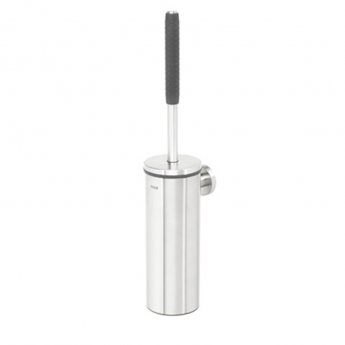 Coram Boston Toilet Brush and Holder - Stainless Steel Brushed