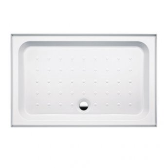 Coram Coratech Rectangular Riser Shower Tray with Waste 1200mm x 760mm 3 Upstand