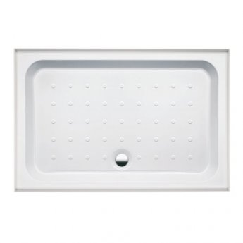 Coram Coratech Rectangular Riser Shower Tray with Waste 1200mm x 800mm 3 Upstand