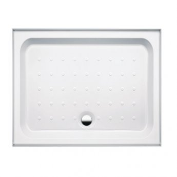 Coram Coratech Rectangular Riser Shower Tray with Waste 1000mm x 800mm 3 Upstand