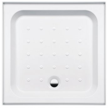 Coram Coratech Square Riser Shower Tray with Waste 900mm x 900mm 3 Upstand