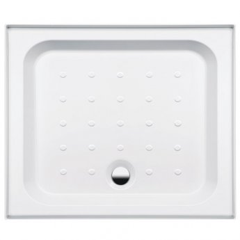 Coram Coratech Rectangular Riser Shower Tray with Waste 900mm x 760mm 3 Upstand