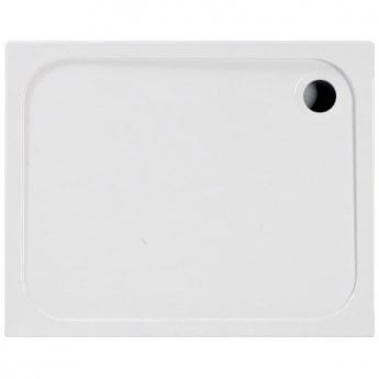 Coram Resin Rectangular Shower Tray 1200mm x 900mm - Flat Top