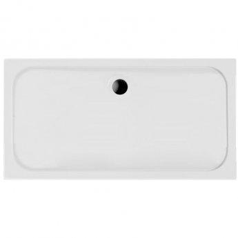 Coram Resin Rectangular Shower Tray 1700mm x 900mm - Flat Top
