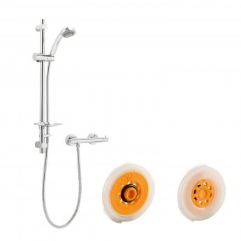Deva Combi Eco Bar Mixer Shower with Shower Kit