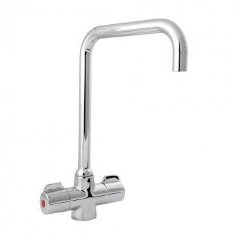 Deva Ingot Mono Kitchen Sink Mixer Tap, Chrome