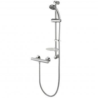 Deva Kestrel Cool Touch Bar Mixer Shower with Shower Kit