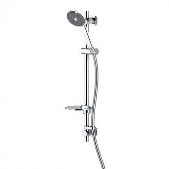 Deva Kiri Satinjet Wasy Fit Shower Kit - Chrome