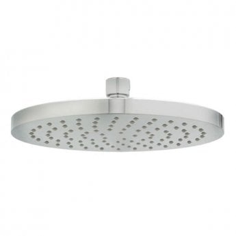 Deva Krome 8 Inch Round Fixed Shower Head with Swivel Joint Chrome