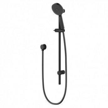 Deva Krome Three Function Shower Kit - Matte Black