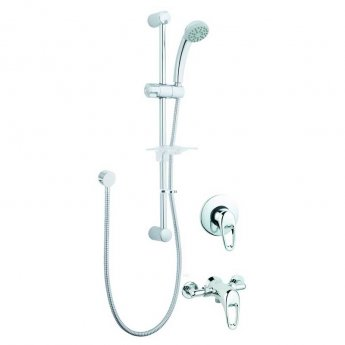 Deva Lace Sequential Concealed Mixer Shower with Shower Kit