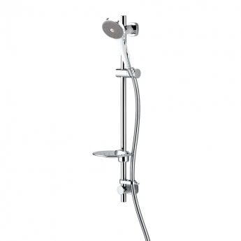 Deva Maku Satinjet Easy Fit Shower Kit - Chrome