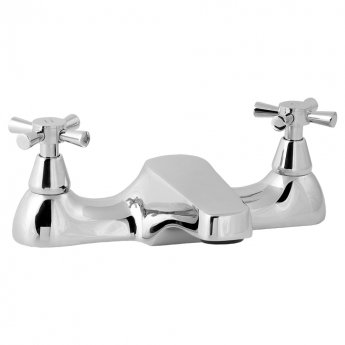 Deva Milan Deck Mounted Bath Filler Tap, Chrome