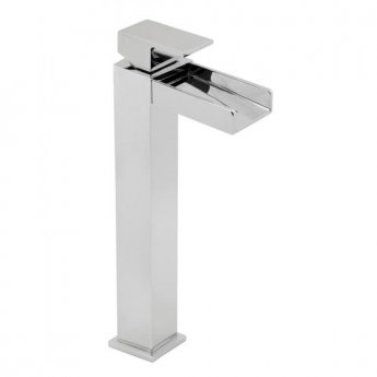 Deva Sparkle Tall Mono Basin Mixer Tap Chrome