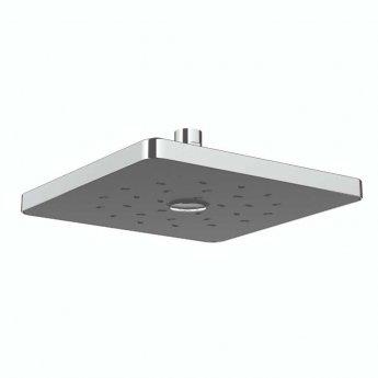 Deva Satinjet Square Fixed Shower Head - Chrome